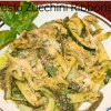 Zucchini Ribbons with Pesto